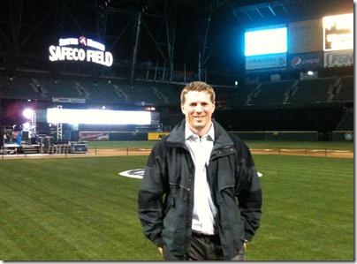 Stephen Cawood Microsoft MVP Summit 2011 Safeco Field geeklit.com
