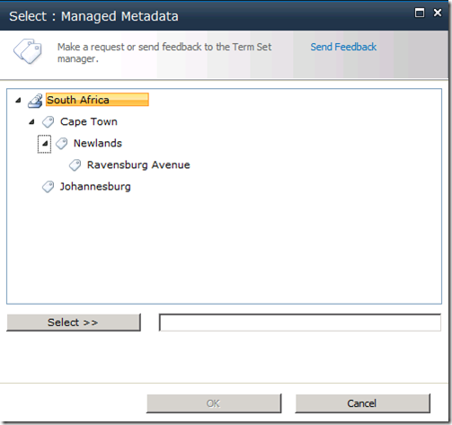 ... - geek literature: SharePoint Managed Metadata End-User Experience
